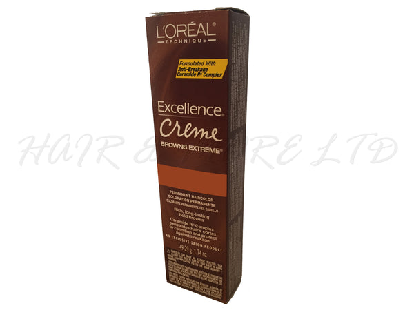 Loreal Excel Creme Browns Extreme - BR1 (Dark Red Brown)