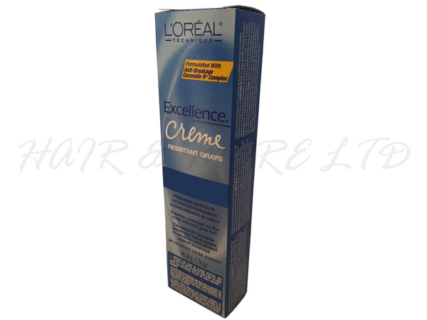 Loreal Excel Creme Resistant Gray - 6.3X (Light Golden Brown)