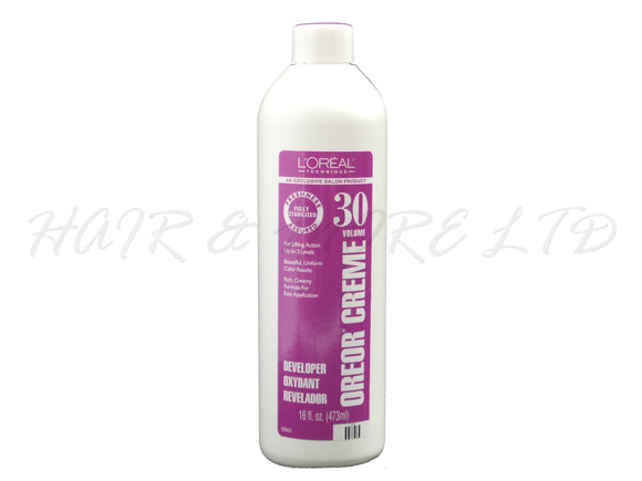 Loreal Oreor 30 vol Developer 473ml