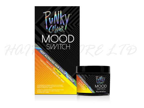 Punky Colour Mood Switch Temporary Hair Colour 56g - Orange to Yellow