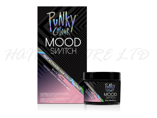Punky Colour Mood Switch Temporary Hair Colour 56g - Black to Pink ...