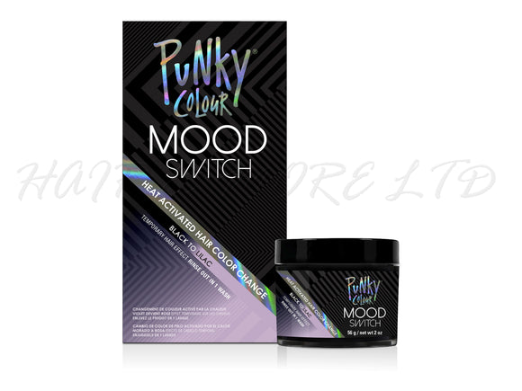 Punky Colour Mood Switch Temporary Hair Colour 56g - Black to Lilac
