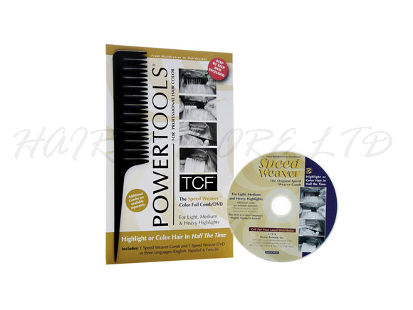 Powertools - TCF Colour Foil Comb & DVD
