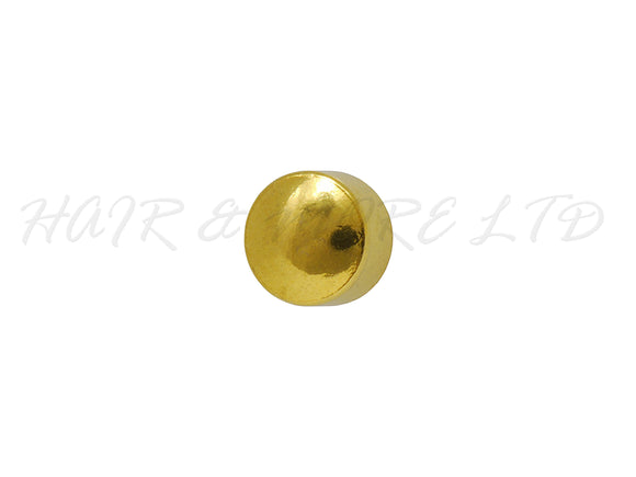 Studex Gold Plated Ball Stud Earrings, 1 Pair - Mini Size 2mm