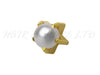 Studex Gold Plated Earrings Pearl, 1 Pair - Regular Size 3mm