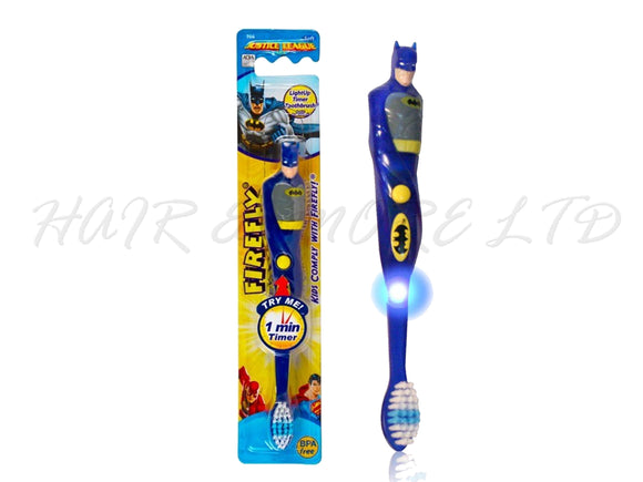 Batman Tooth Brush with Flashing 1 Minute Timer