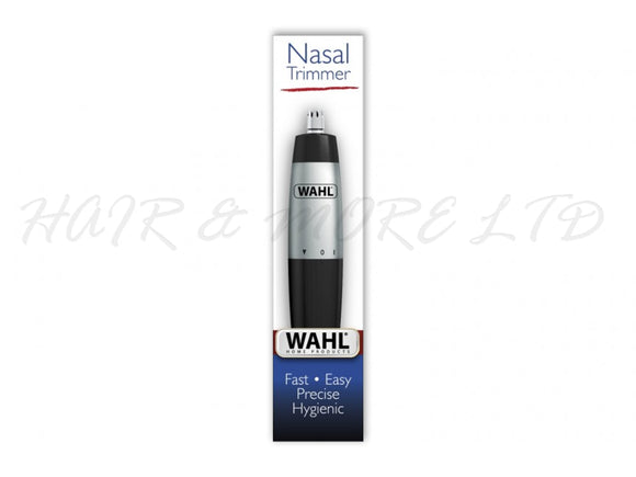 WAHL Nose/Ear Wet & Dry Nasal Hair Trimmer, Battery Powered