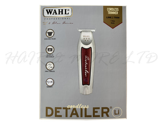 WAHL Professional 5 Star Series, Cordless Detailer Li T-Wide Trimmer