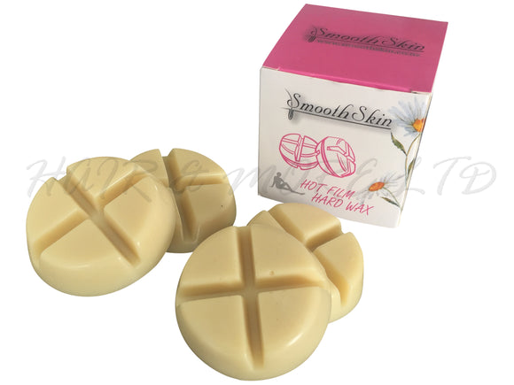 Smooth Skin Hot Wax Cakes, 4 x 50g - Vanilla