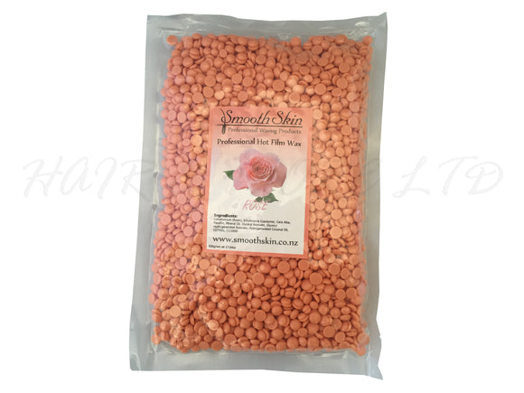 Smooth Skin Hot Wax Granules, 500g - Rose