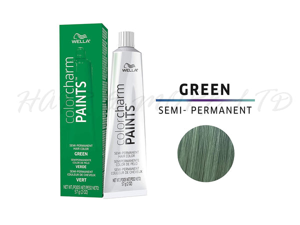 Wella Color Charm Paints Semi-Permanent Hair Colour 57g - Green