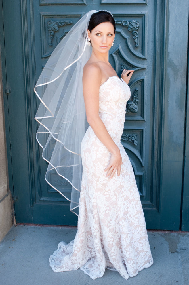 Justine M Couture - Bella Butterfly Veil