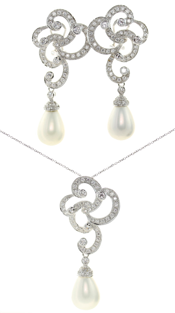 Frances Pearl Jewelry Set