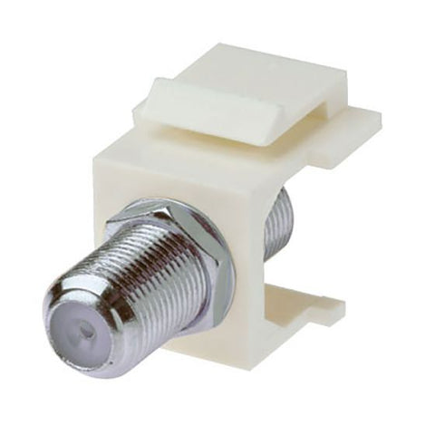 1 GHz F-Connector - Keystone Snap-In Insert