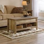 Rustic Lift-top Coffee Table Craftsman Oak Finish