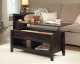 Lift-top Coffee Table Char Pine Finish
