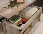 Lift-top Coffee Table Lintel Oak Finish