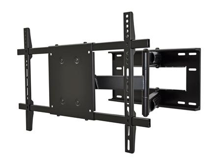 Articulating wall mount for flat panel TV's up to 90""