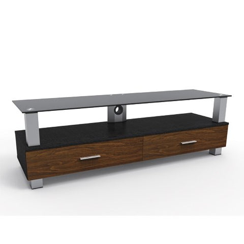 everStyle® 2-Tier Wood Grain Media Console (Large)