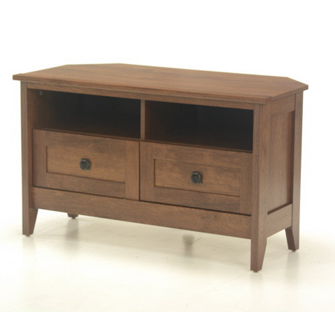 Sauder® Oak Finish Corner TV Stand Oiled Oak® Finish
