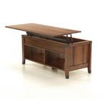 Lift-Top Coffee Table Washington Cherry Finish