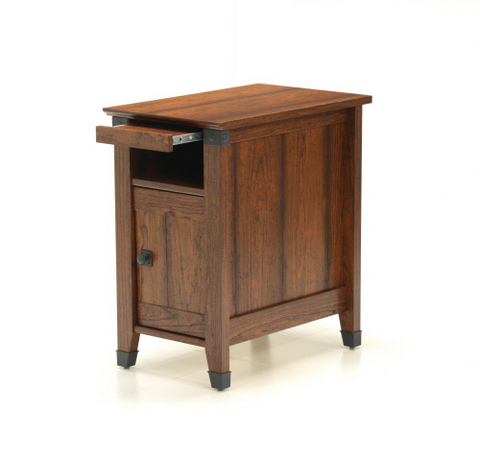 Sauder® Carson Forge® Side Table Washington Cherry Finish
