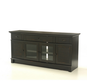 Sauder® Harbour View® Credenza Antiqued Paint® Finish