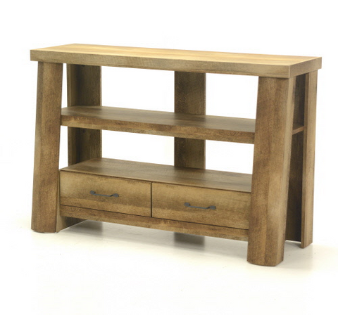 Sauder® Boone Mountain® Anywhere Console Craftsman Oak® Finish