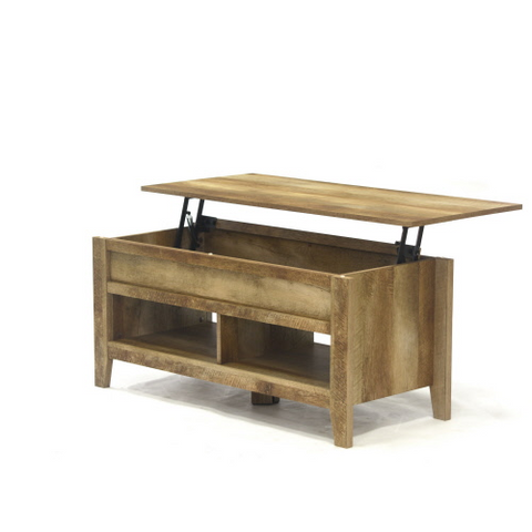 Sauder® Dakota Pass® Rustic Lift-top Coffee Table Craftsman Oak® Finish
