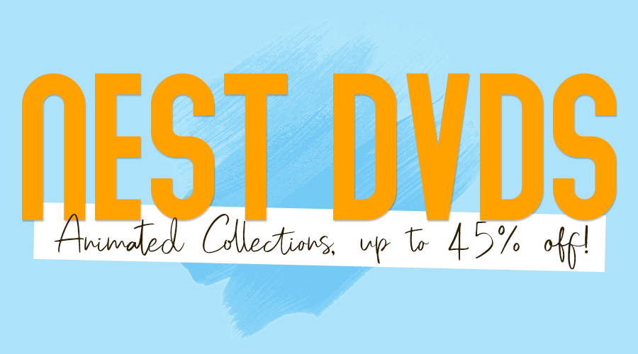 Nest Animated DVD Collections up to 45% off