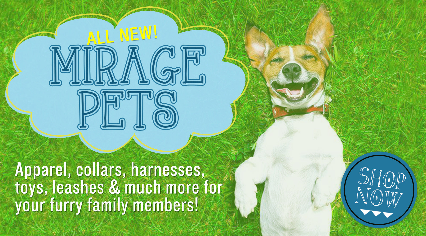 Mirage Pets - Dog apparel, collars, toys, leashes, accessories
