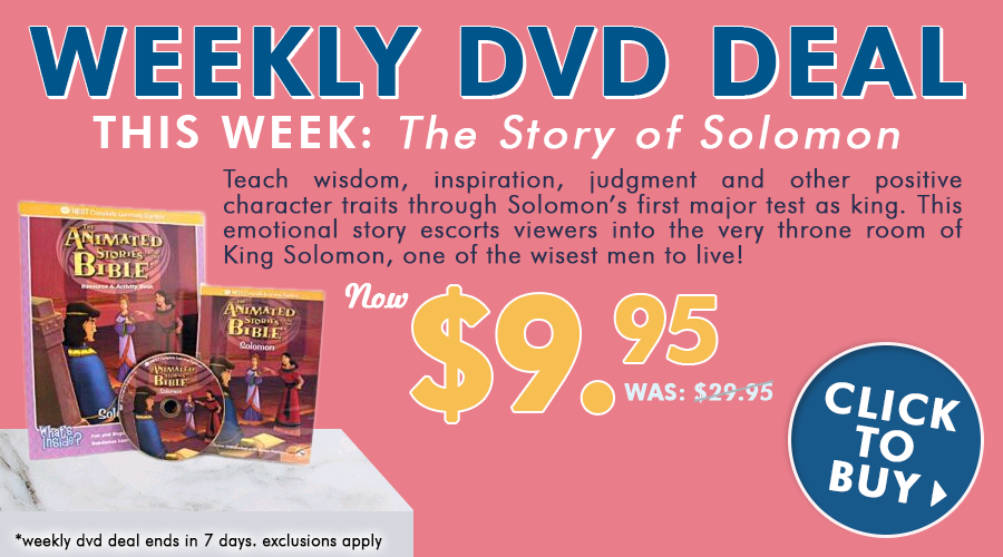 Weekly DVD Deal: The Story of Solomon