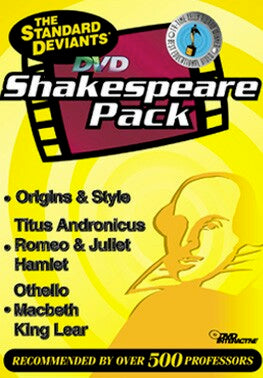 Shakespeare (3 Pack)