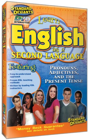ESL Program 1: Pronouns Adjectives& The Present Tense