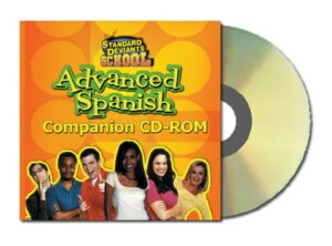 Standard Deviants School Advanced Spanish Companion CD
