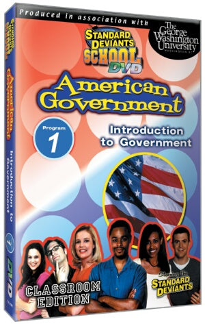 Standard Deviants School American Government Module 1: Intro to Gov
