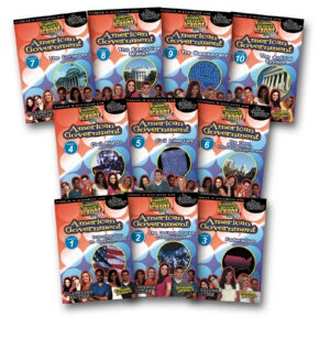 Standard Deviants School American Government (11 Pack)