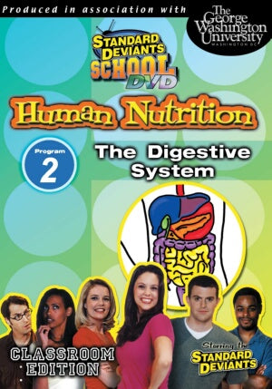 Standard Deviants School Nutrition Module 2: The Digestive System