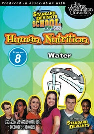 Standard Deviants School Nutrition Module 8: Water