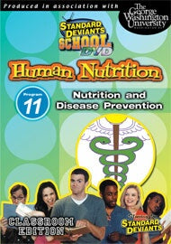 Standard Deviants School Nutrition Module 11: Disease Prevention