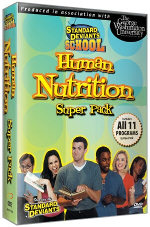 Standard Deviants School Nutrition (11 Pack)