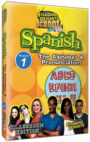 Standard Deviants School Spanish Module 1: Alphabet / Pronunciation