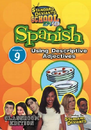 Standard Deviants School Spanish Module 9: Descriptive Adjectives