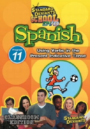 Standard Deviants School Spanish Module 11: Present Indicative