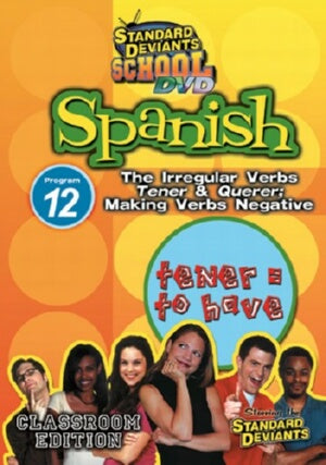 Standard Deviants School Spanish Module 12: Tener and Querer