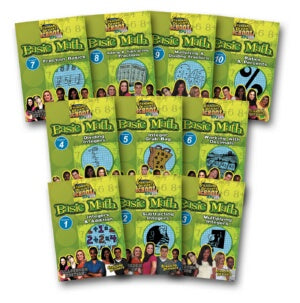 Standard Deviants School Basic Math (10 Pack)