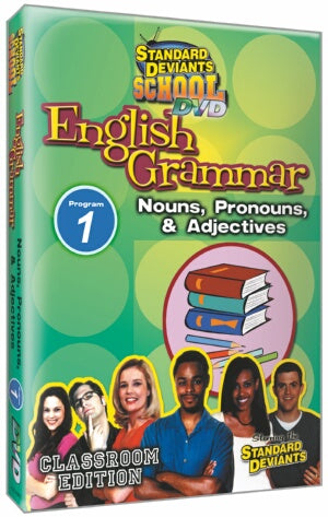 Standard Deviants School English Grammar Module 1: Nouns Pronouns and Adjectives
