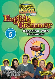 Standard Deviants School English Grammar Module 5: Agreeing with Grammar