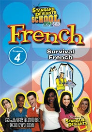 Standard Deviants School French Module 4: Survival French