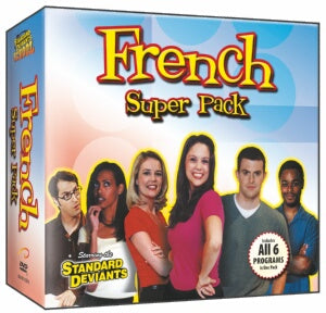 Standard Deviants School French (7 Super Pack)